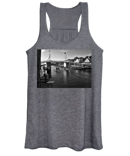 Heading To Sea - Perkins Cove - Maine Women's Tank Top