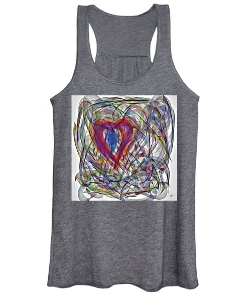 Heart In Motion Abstract Women's Tank Top