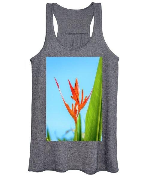 Heliconia Flower Women's Tank Top