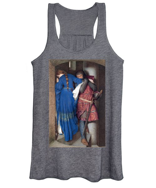 Hellelil And Hildebrand Or The Meeting On The Turret Stairs Women's Tank Top