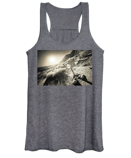Hellhole Canyon Warning Women's Tank Top