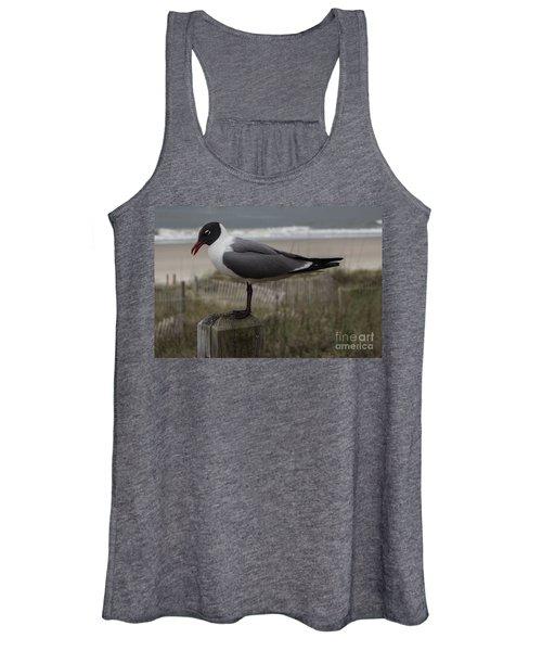 Hello Friend Seagull Women's Tank Top