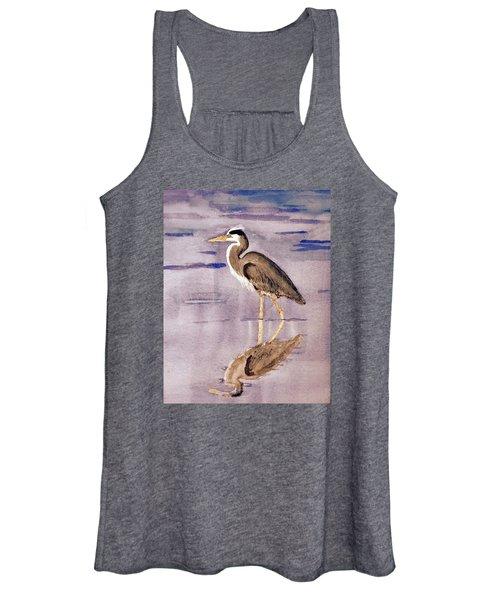 Heron No. 2 Women's Tank Top