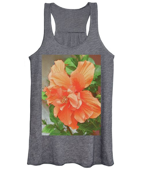Hibiscus Flower Women's Tank Top