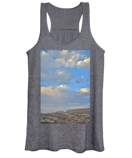 High Clouds Over Caineville Wash Women's Tank Top