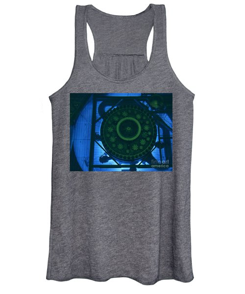 High Flux Isotope Reactor Pool Women's Tank Top