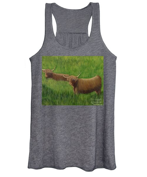 Highland Cows Women's Tank Top