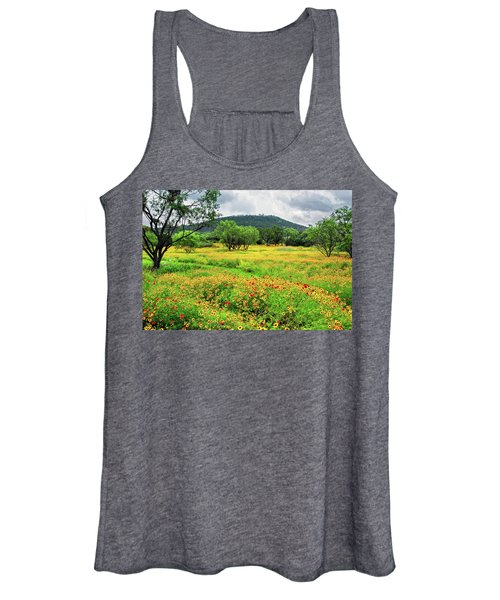 Hill Country Wildflowers Women's Tank Top