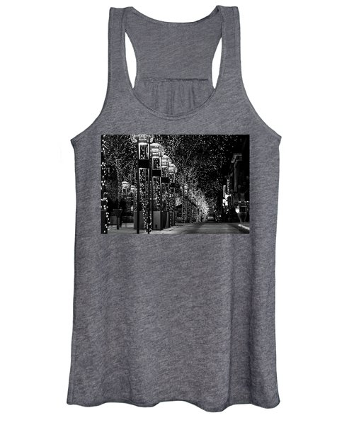 Holiday Lights - 16th Street Mall Women's Tank Top