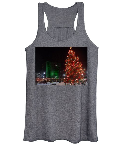 Holidays Downtown Women's Tank Top