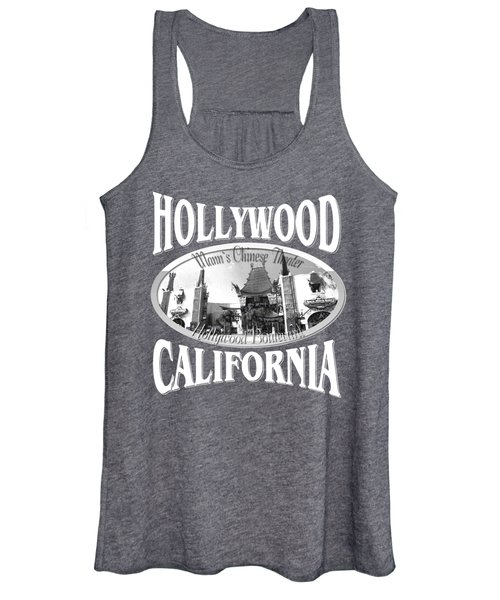 Hollywood California Design Women's Tank Top