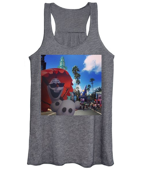 Olafs Vacation  Women's Tank Top
