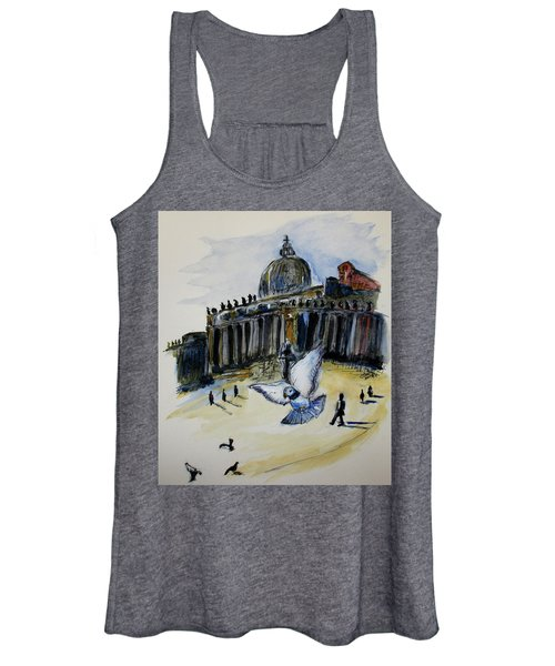 Holy Pigeons Women's Tank Top