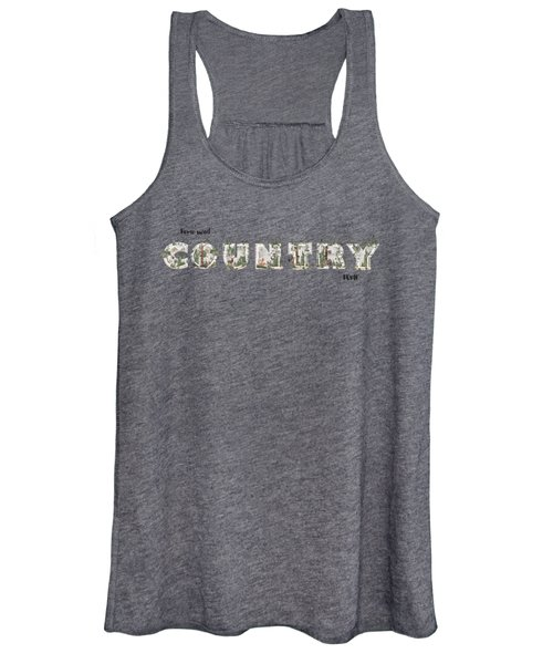 Home Sweet Country Home Women's Tank Top