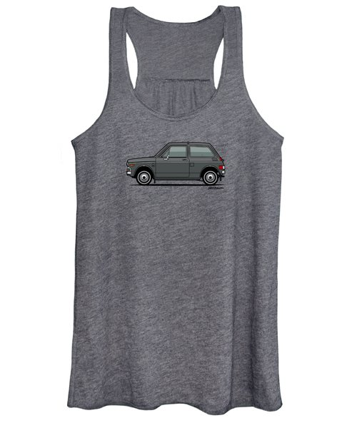 Honda N600 Gray Kei Car Us Version Women's Tank Top