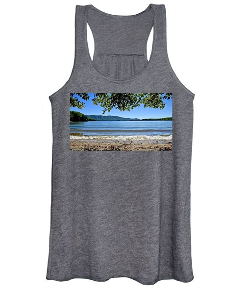 Honey Suckel Cove, Smith Mountain Lake Women's Tank Top