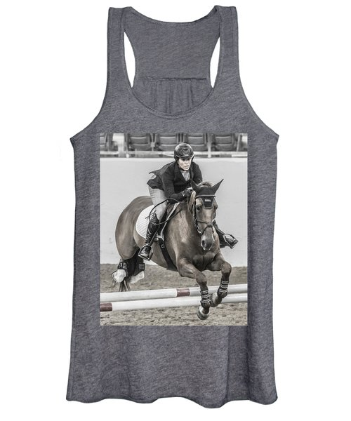 Horse And Rider Women's Tank Top