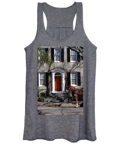 Horse Carriage In Charleston Women's Tank Top