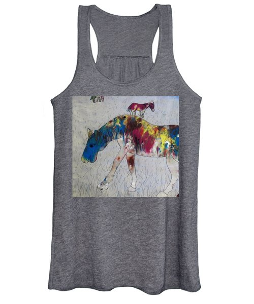 Horse Of A Different Color Women's Tank Top