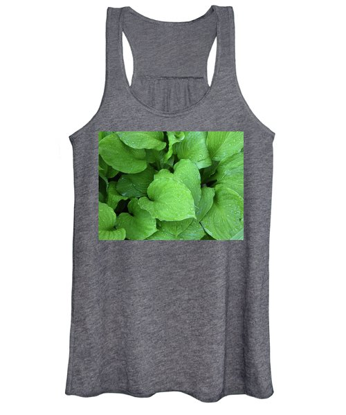 Hostas After The Rain IIi Women's Tank Top