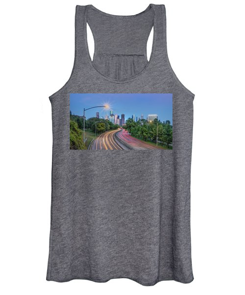 Houston Evening Cityscape Women's Tank Top