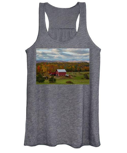 Hudson Valley Ny Fall Colors Women's Tank Top