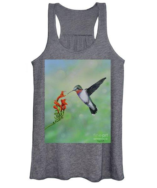 Hummingbird Beauty Women's Tank Top