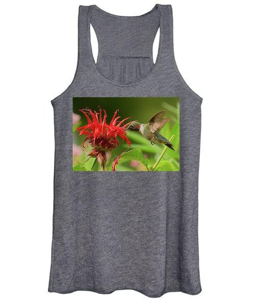 Hummingbird Delight Women's Tank Top