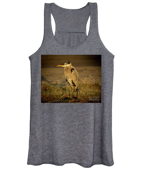 I Know They Are Coming Wildlife Art By Kaylyn Franks Women's Tank Top