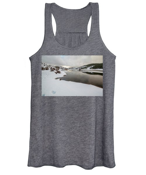 Ice In The River Women's Tank Top