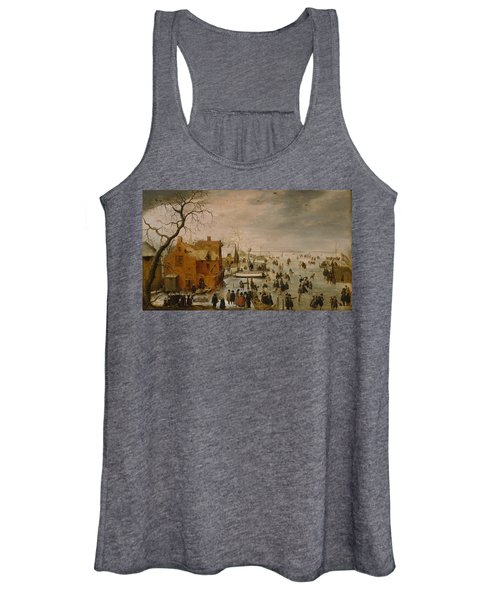 Ice Landscape Women's Tank Top