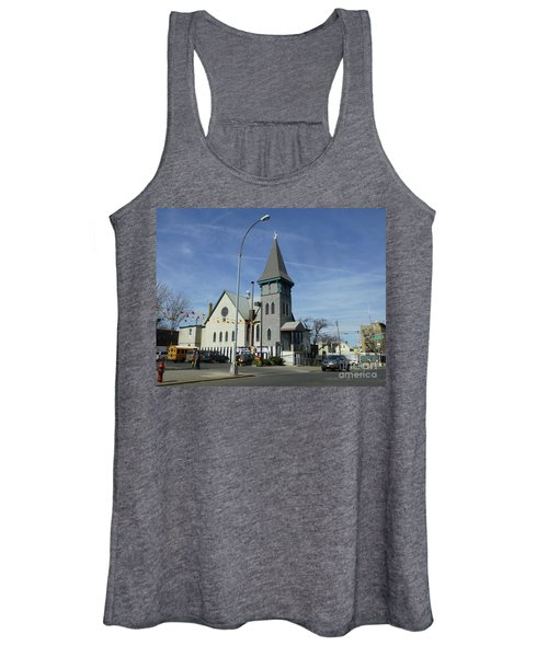 Iglesia Metodista Unida Church Women's Tank Top