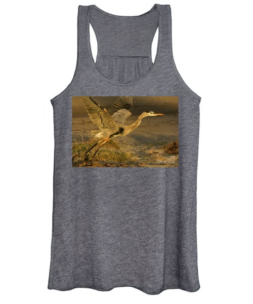 I'm Out Of Here Wildlife Art By Kaylyn Franks Women's Tank Top