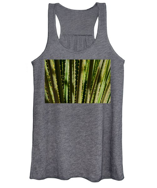 In The Cactaceae Weeds Women's Tank Top
