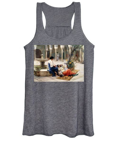 In The Courtyard Of The Harem Women's Tank Top