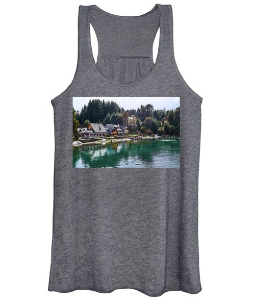 Rustic Museum In The Argentine Patagonia Women's Tank Top