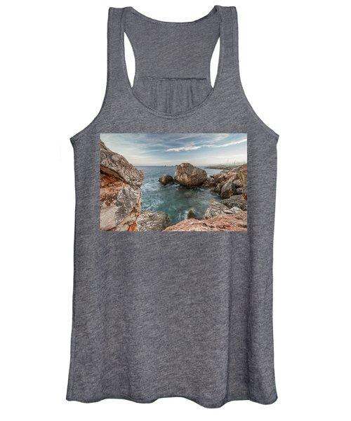 In The Middle Of The Rocks Women's Tank Top