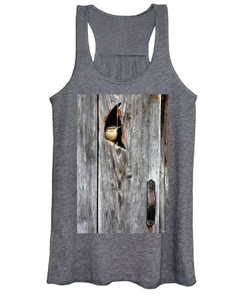 In The Outhouse Shed Women's Tank Top