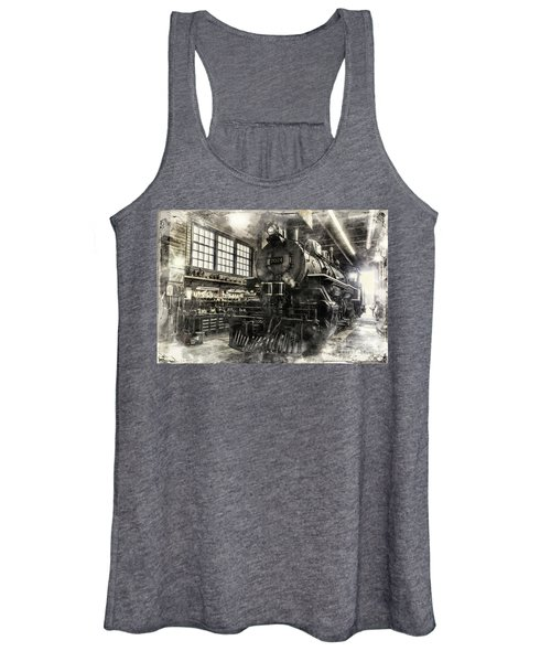 In The Roundhouse Women's Tank Top