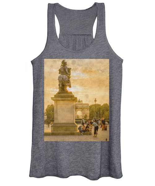 Paris, France - In The Shadow Of Glory Women's Tank Top