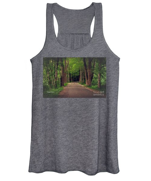 In To The   Deep Dark Woods  Women's Tank Top