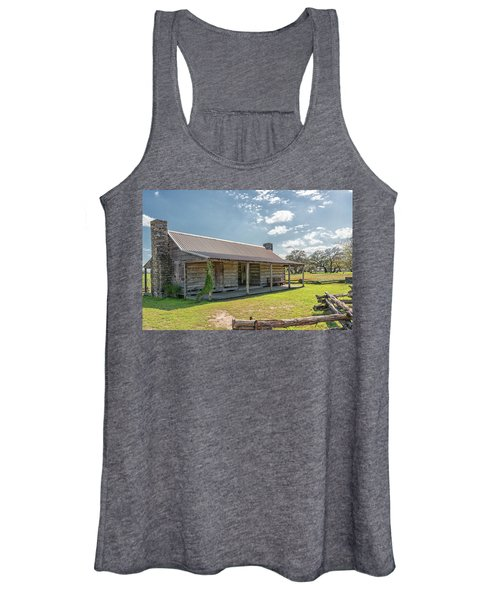 Independence Texas Cabin Women's Tank Top