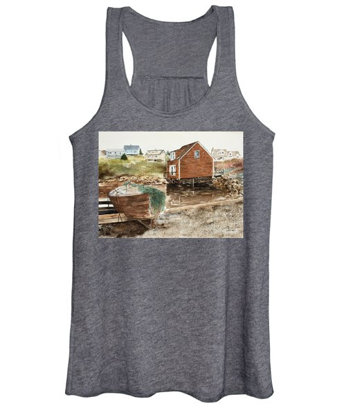 Inlet At Peggy's Cove Women's Tank Top