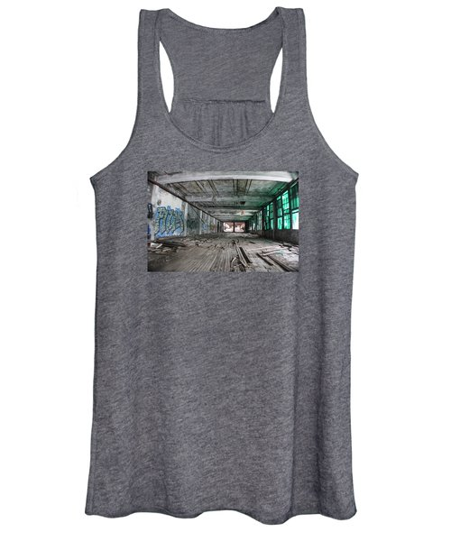Inside Detroit Packard Plant  Women's Tank Top