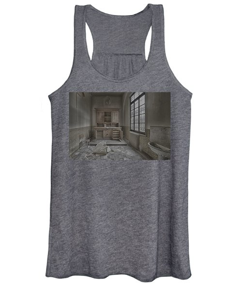 Interior Furniture Atmosphere Of Abandoned Places Dig Photo Women's Tank Top