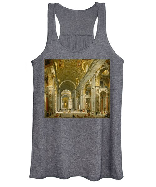 Interior Of St. Peter's - Rome Women's Tank Top