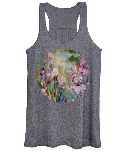 Iris Garden Women's Tank Top