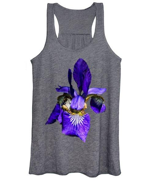 Iris Versicolor Women's Tank Top
