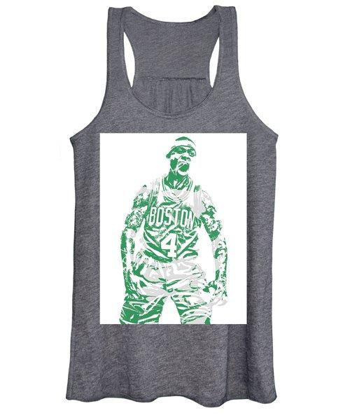 Isaiah Thomas Boston Celtics Pixel Art 16 Women's Tank Top