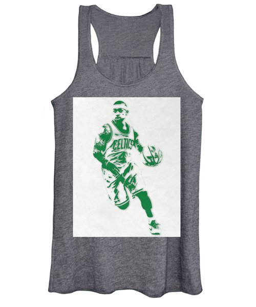 Isaiah Thomas Boston Celtics Pixel Art 2 Women's Tank Top